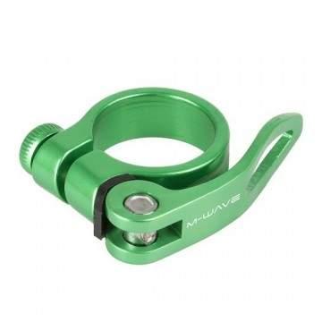Abraçadeira Selim M-Wave 31.8 QR Verde
