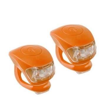 Pair Leds M-Wave Cobra Orange
