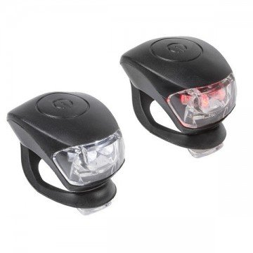 Par Leds M-Wave Cobra Negro