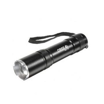 1600lm Mini Flashlight Black