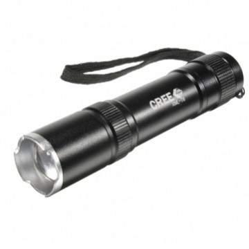Mini Flashlight 2000lm Black