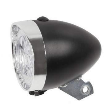 Bike Head Lamp Classic Kurven Black