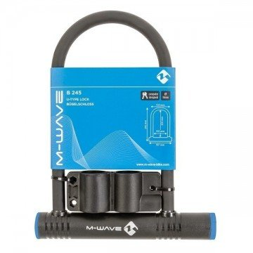M-Wave Shackle Lock 13mm