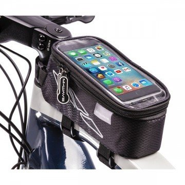 M-Wave Top Tube Bag Black L