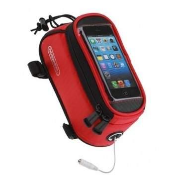 Bolsa Quadro Audio Vermelho S