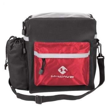 Map M-Wave Clip Handlebar Bag Red