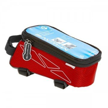 Bolsa Quadro M-Wave Top Tube Vermelho L