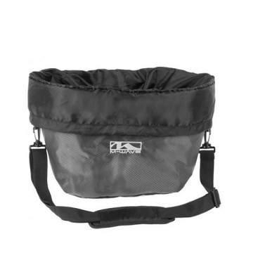 M-Wave Basket Bag Black