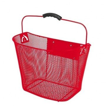 Ventura Red Handlebar Basket