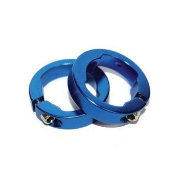 Abrazaderas Puño Lock On Clarks Azul