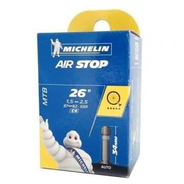 """Câmara Ar 26"""" Michelin 1.50 - 2.50 Av"""