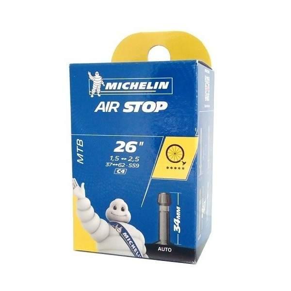 """Cámara Aire 26"""" Michelin 1.50-2.50 Av"""