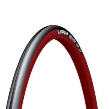 Cubierta Michelin Dynamic Rojo 700 * 23c