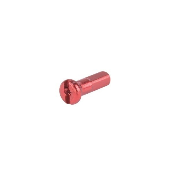 Ozone Spoke Nipple Red - 6 Unit