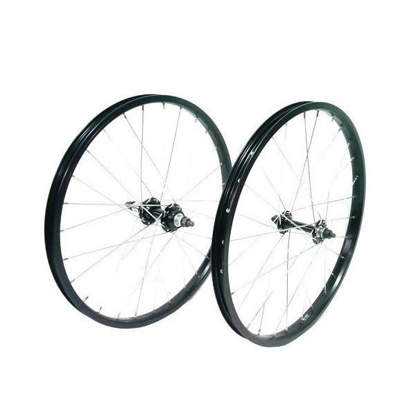 "Mach1 20"" Wheels Set Alu Black"