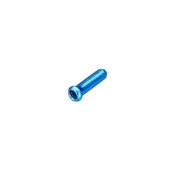 End Caps Cable Blue - 25 Units
