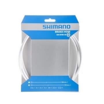 Tubo Hidráulico Shimano BH90 Branco 1000mm