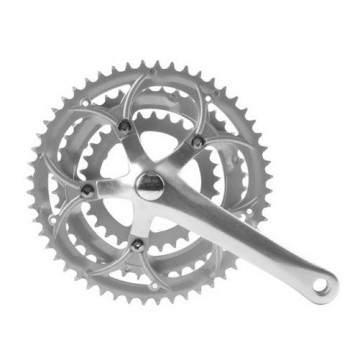 Kurven Road Chainwheel 52-42-30T Silver