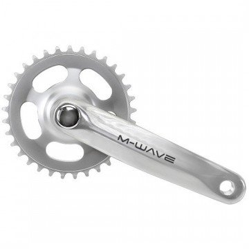 M-Wave Single Chainwheel Silver 33T