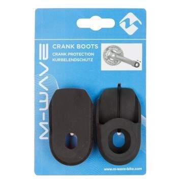 protetor cranks m-wave preto