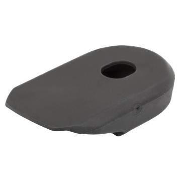 protetor cranks m-wave preto silicone