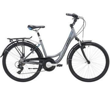 """Deed Kelly 26"""" Bike 6s Gray"""
