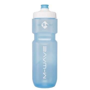 Bidon M-Wave Transparente Azul 750
