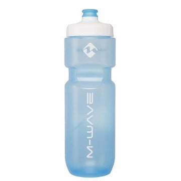 Botella M-Wave Transparente Azul 750