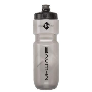 Bidon M-Wave Transparente Preto 750 ml