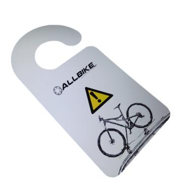 Pendurante Aviso Bicicleta Tejadilho