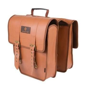 M-Wave Amsterdam Pannier Bag Brown