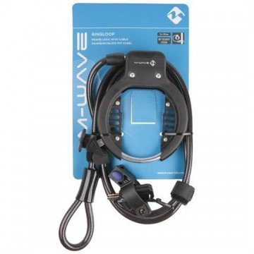 M-Wave Ringloop Frame Lock w/Cable