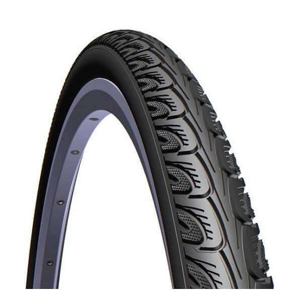 """Mitas Hook 26"""" * 1 3/8 Tire Black"""