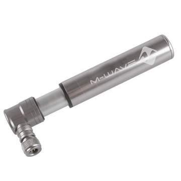M-Wave Air Midget Mini Pump Silver