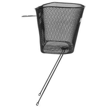 "Kurven Bicycle Basket w / Stand 1 ""1/8"