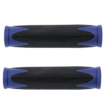 Puños Velo Soft D2 Negro - Azul