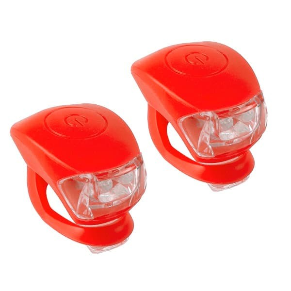 Pair Leds M-Wave Cobra Red