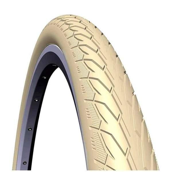 """Mitas Flash 26"""" * 1 3/8 Tire Cream"""