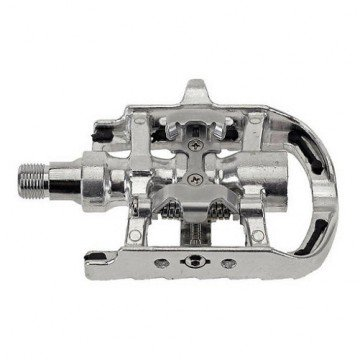 M-Wave Spd Pedals Silver
