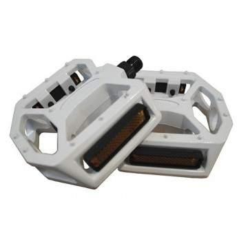 Pedales Wellgo Aluminio Blanco