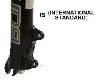 travão international standard