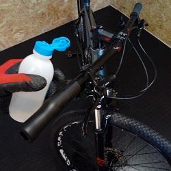 instalar punhos bicicleta